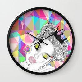 SLEEPING BAE OG Wall Clock