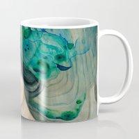 mermaid Mugs featuring Mermaid by Mandy Tsung