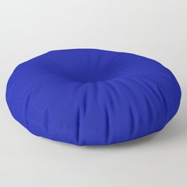 Simply Solid - Admiral Blue Floor Pillow
