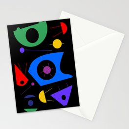 Abstract #88 Space Debris Stationery Cards