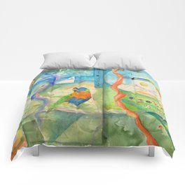 Song for Rainbow Parrot Comforters