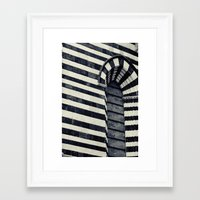 striped Framed Art Prints featuring Striped by farsidian