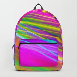 neon saturn waves Backpack