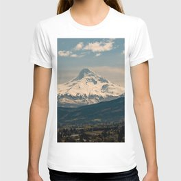 Mountain Valley Pacific Northwest - Nature Photography T-shirt