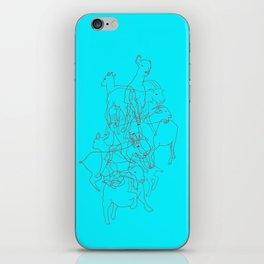 Se me van las cabras al monte iPhone Skin