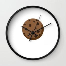 Chocolate Chocolate Chip Wall Clock