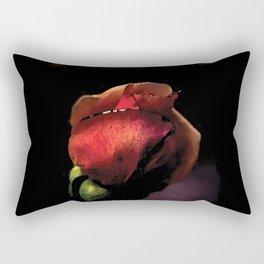 Rose encore fermée colors fashion Jacob's Paris Rectangular Pillow