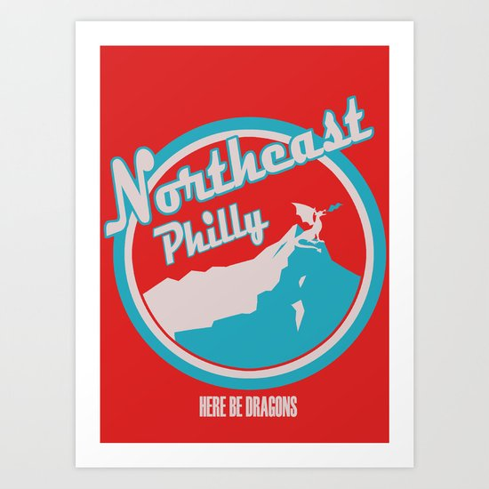 Northeast Philly Art Print
