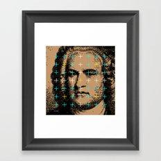 Johann Sebastian Bach Framed Art Print
