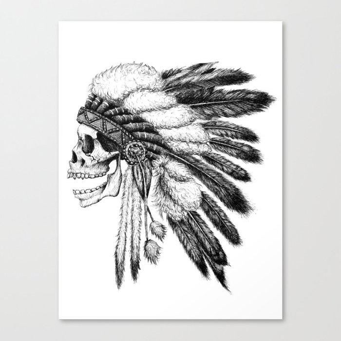 Native American Canvas Print