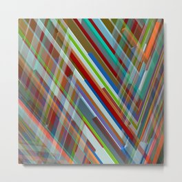 Abstract Composition 610 Metal Print