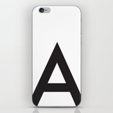 Uppercase a iPhone & iPod Skin
