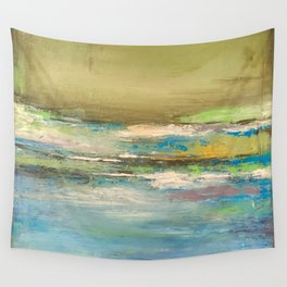 Land meets Water Wall Tapestry