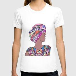 Woman in Colors - Marengo - Print [no tag] T-shirt