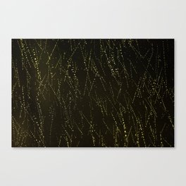 Rain on a Window Canvas Print