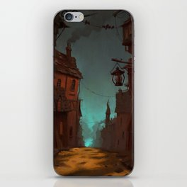 Spooky town iPhone Skin