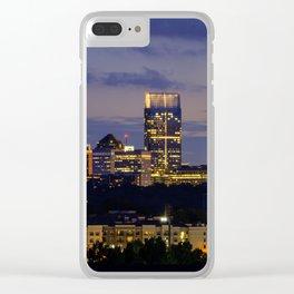 Sunset of Atlanta Georgia Clear iPhone Case