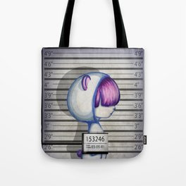 She's in jail... Tote Bag