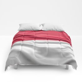 Flag of Indonesia Comforters