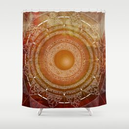 Svadhisthana (carnal knowledge) Shower Curtain