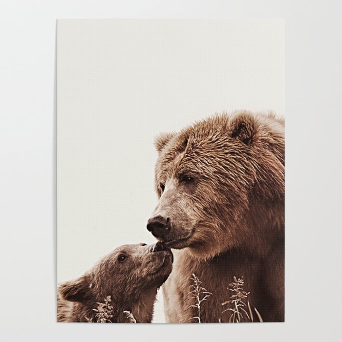 Woodlands Nursery Decor Bear Mother