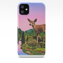 Giant deer iPhone Case