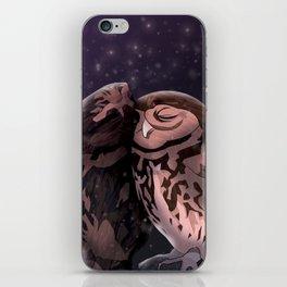 Owly kiss iPhone Skin