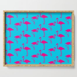 Pink Flamingos Serving Tray