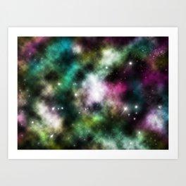 Taurus and Orion Art Print