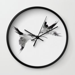 BBC Merlin: In Spite of Everything, the Stars (Twin Merlins tattoo 02) Wall Clock