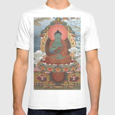 God of the East Mens Fitted Tee MEDIUM White