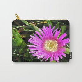 Pink Mesembryanthemum Carry-All Pouch
