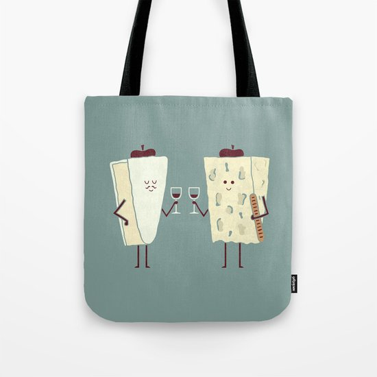 Frencheese Tote Bag