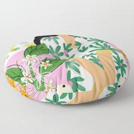Floral fever Floor Pillow