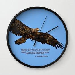 Soaring High!  -  Immature Wall Clock