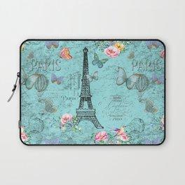 Paris - my blue love Laptop Sleeve