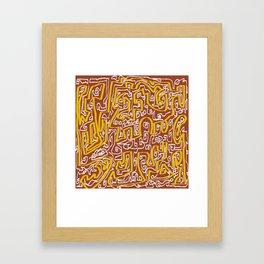 Laberinto 7 Framed Art Print