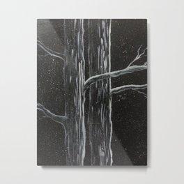 It Snowed All Night Metal Print