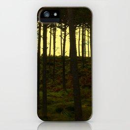 Scottish Pines iPhone Case