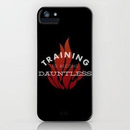 Training: Dauntless iPhone Case
