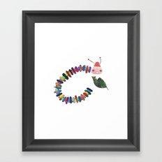 Mr Caterpillar Framed Art Print