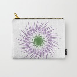 Genderqueer Flower Carry-All Pouch