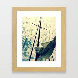 Breeze. Framed Art Print