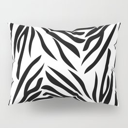 Black and White Zebra Print Pillow Sham