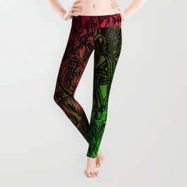 Chaos In My Mind III Leggings