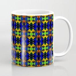 Gold Strands - Navy Blue Coffee Mug