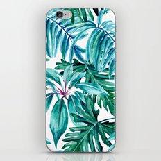 Tropical jungle II iPhone Skin