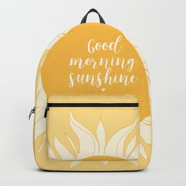 Good Morning Sunshine Backpack