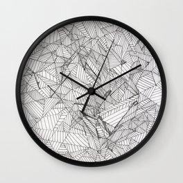 new cubism Wall Clock