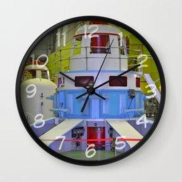 machine room HPP Wall Clock